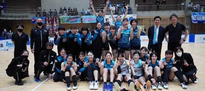 2020−21V•LEAGUE DIVISION2 WOMENシーズン終了のご報告